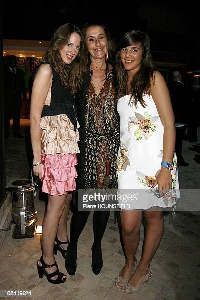 Joy Desseigne, Pia de Brantes, Pandora Pearso de Brantes at 'Opening of the Naoura Barriere Palace' in Marrakech, Morocco on March 07th, 2009.