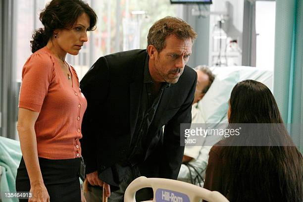 HOUSE Joy Episode 6 Aired Pictured Lisa Edelstein as Dr Lisa Cuddy Hugh Laurie as Dr Greg House Joanna Koulis as Samantha Harmon