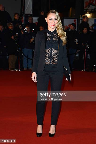 Joy Esther attends the 15th NRJ Music Awards at Palais des Festivals on December 14 2013 in Cannes France