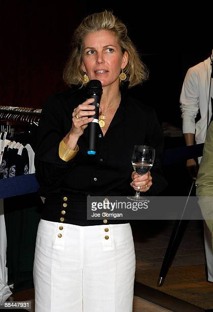 Joy Herfel President Polo Ralph Lauren Menswear at Polo Ralph Lauren Corporation attends the opening of the Polo Ralph Lauren shop at Bloomingdale's...