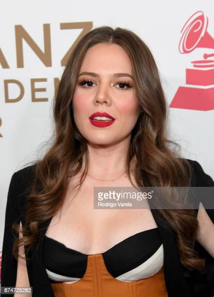 Joy Huerta of Jesse y Joy attends the 2017 Person of the Year Gala honoring Alejandro Sanz at the Mandalay Bay Convention Center on November 15 2017...