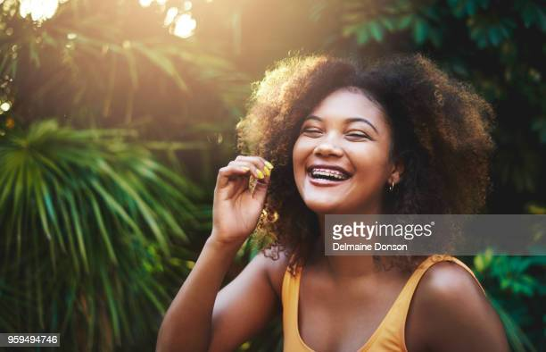 joy is a beautiful thing that looks great on anyone - brace stock pictures, royalty-free photos & images