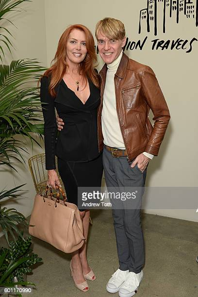Joy Kenny and Ken Downing attend Lexus Lounge At MADE at Milk Studios on September 9 2016 in New York City