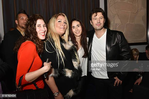 Joy Koch Loana a guest and Jean Pierre DanelÊattend 'Guitar Tribute' by Golden disc awarded Jean Pierre Danel at Hotel Burgundy on April 7 2015 in...