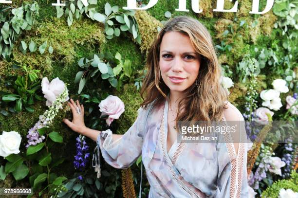 Joy Lenz poses for portrait at We Are Kindred Resort Collection Launch at EP LP on June 19 2018 in West Hollywood California