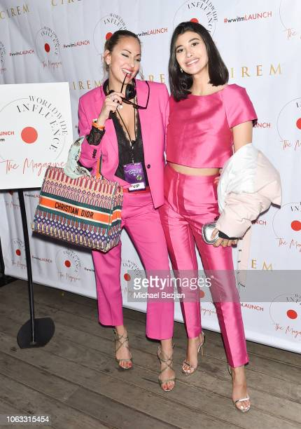 Joy Loves Ledger and Abla Sofy arrive at Worldwide Influence The Magazine Online Splashy Launch Celebration #wwitmlaunch at SIXTY Beverly Hills on...