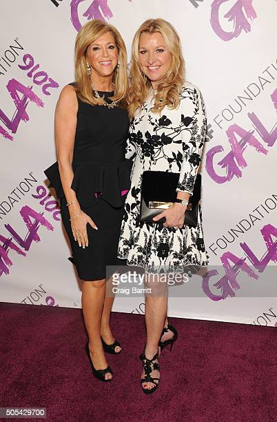 Joy Mangano and Mindy Grossman attends the NRF Foundation Gala 2016 at Pier 60 on January 17 2016 in New York City