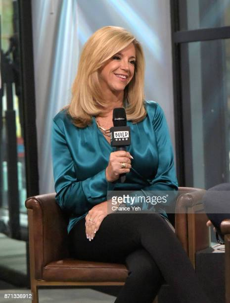 Joy Mangano attends Build series to discuss Inventing Joy Dare To Build A Brave Creative Life at Build Studio on November 7 2017 in New York City