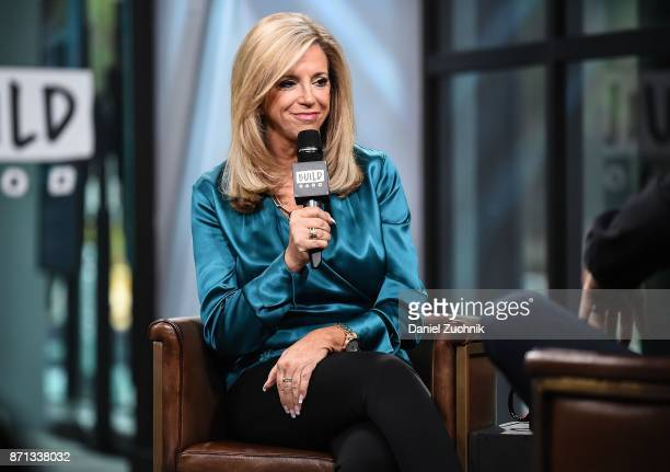 Joy Mangano attends the Build Series to discuss her new book 'Inventing Joy Dare To Build A Brave Creative Life' at Build Studio on November 7 2017...