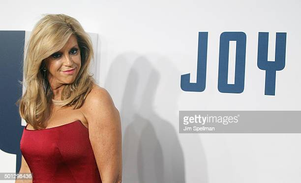 Joy Mangano attends the Joy New York premiere at the Ziegfeld Theater on December 13 2015 in New York City