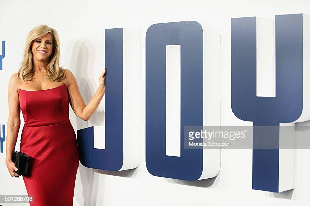 Joy Mangano attends the Joy New York premiere at Ziegfeld Theater on December 13 2015 in New York City