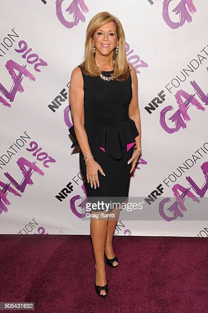 Joy Mangano attends the NRF Foundation Gala 2016 at Pier 60 on January 17 2016 in New York City