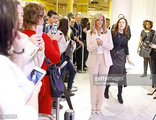 Joy Mangano visits Macy's Herald Square at Macy's Herald Square on January 9 2016 in New York City
