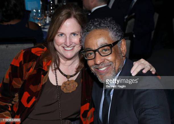 Joy McManigal and Giancarlo Esposito attend the Robert F Kennedy Human Rights Hosts 2019 Ripple Of Hope Gala Auction In NYC on December 12 2019 in...