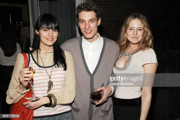 Joy Merrifield James Hampson and Emily Nestor attend THE CINEMA SOCIETY with DETAILS SVEDKA host the after party for 'I LOVE YOU MAN' at Soho Grand...