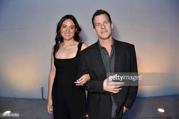 Joy Nolan and Jonathan Nolan attend the FYC Event for HBO's WESTWORLD Season 2 at ArcLight Cinemas Cinerama Dome on April 17 2018 in Hollywood...