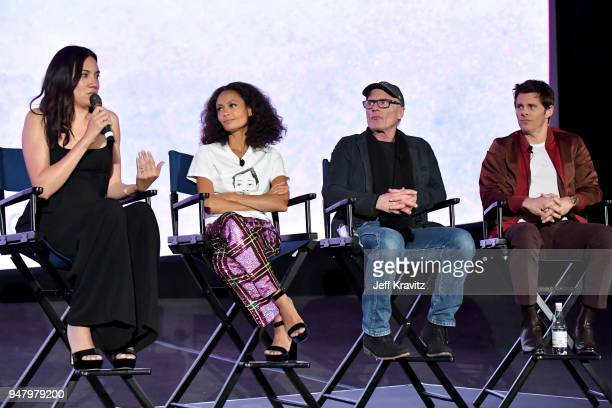 Joy Nolan Thandie Newton Ed Harris and James Marsden attend the FYC Event for HBO's WESTWORLD Season 2 at ArcLight Cinemas Cinerama Dome on April 17...