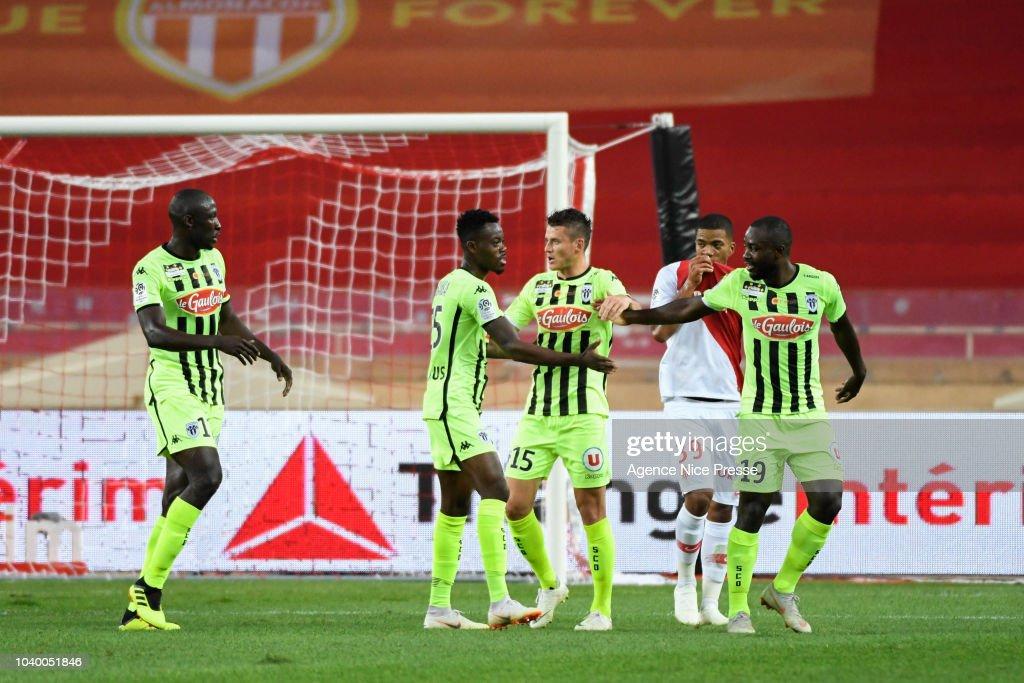 AS Monaco v Angers SCO - Ligue 1
