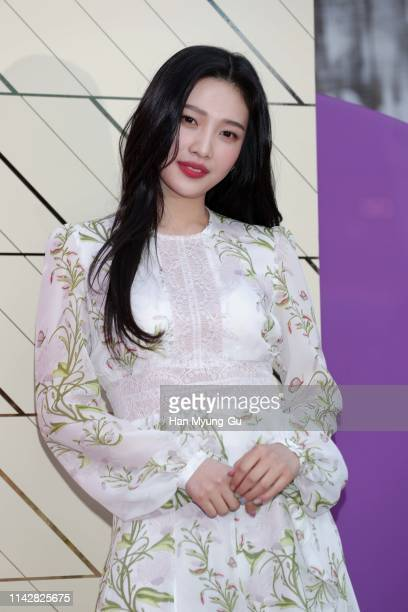 Joy of girl group Red Velvet attends the photocall for BVLGARI Omnia Collection Limited Edition Launch on April 15, 2019 in Seoul, South Korea.