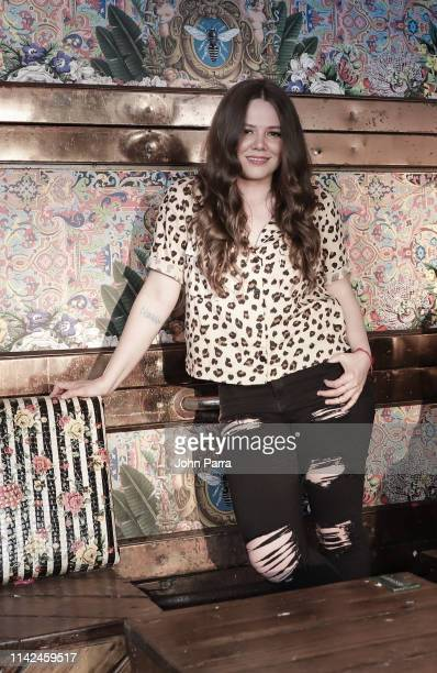 Joy of pop duo Jesse Joy posess for a portrait on May 8 2019 in Miami Florida