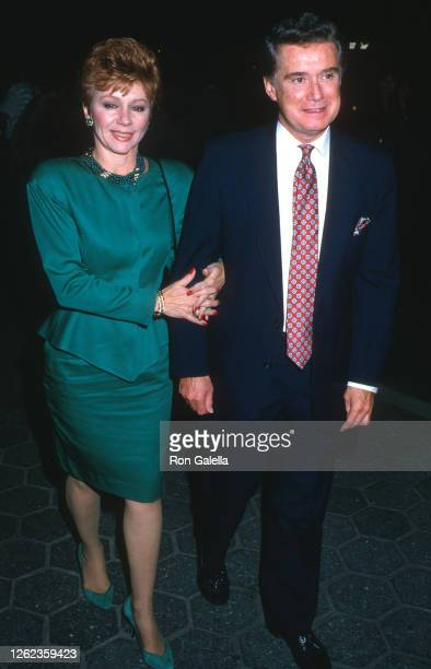 Joy Philbin and Regis Philbin attend Memories Of Me Premiere Party at Tavern on the Green in New York City on September 22 1988