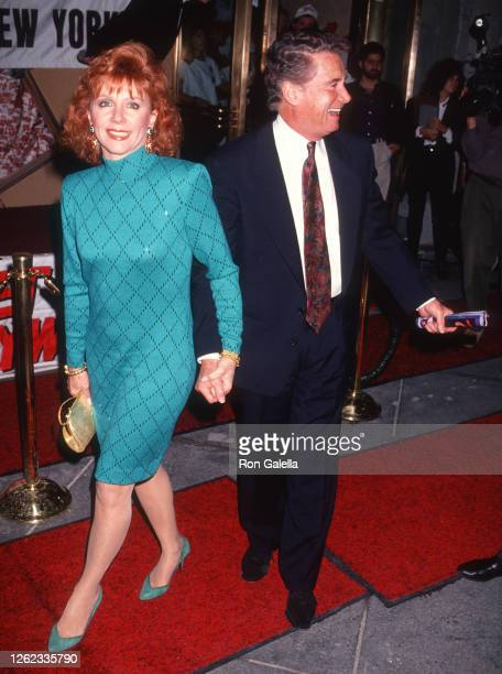 Joy Philbin and Regis Philbin attend Planet Hollywood Grand Opening at Planet Hollywood in New York City on October 22 1991