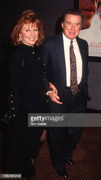 Joy Philbin and Regis Philbin attend Speechless Screening at Cinema II in New York City on December 4 1994