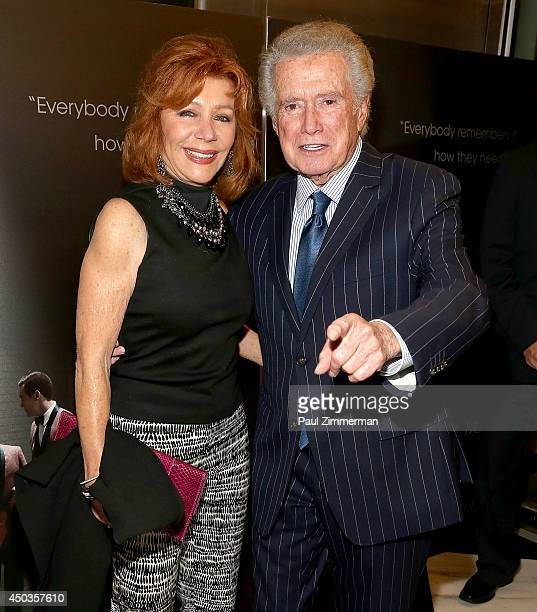 Joy Philbin and Regis Philbin attend the Jersey Boys Special Screening at Paris Theater on June 9 2014 in New York City