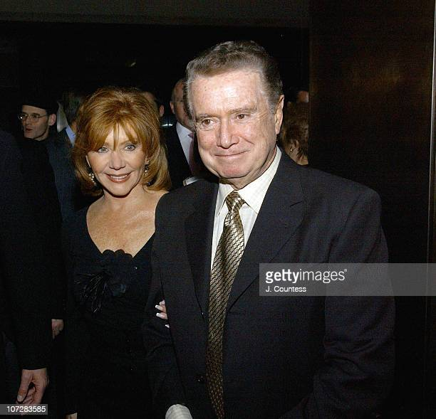 Joy Philbin and Regis Philbin during Deana Martin and the Chambers Hotel Celebrate the Release of Her Book Memories Are Made of This at Chambers...