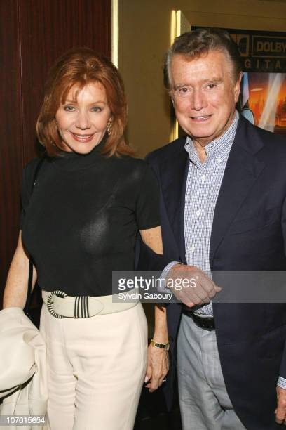 Joy Philbin and Regis Philbin during Miramax Hosts a Private Reception and Screening of The Queen October 18 2006 at Dolby Screening Room at 1350...