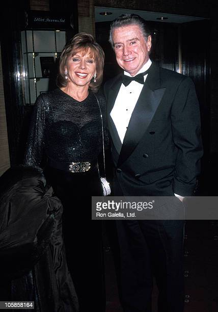 Joy Philbin and Regis Philbin during Museum of Television Radio Honors Jack Paar at Waldorf Astoria in New York City New York United States