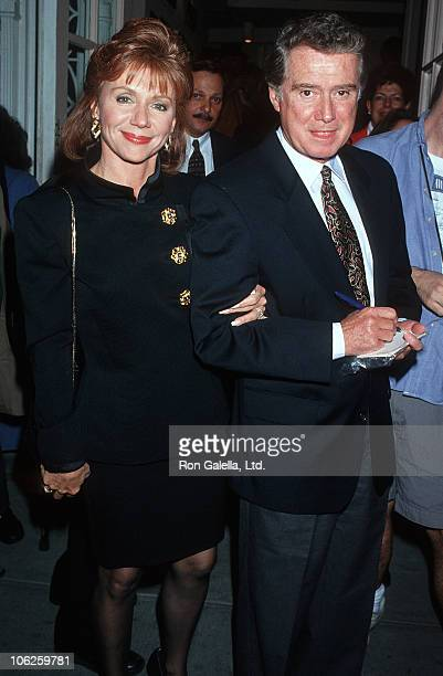 Joy Philbin and Regis Philbin during Opening Night of Sally Marr and Her Escorts at Helen Hayes Theater in New York City New York United States