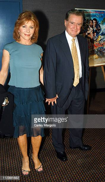 Joy Philbin and Regis Philbin during The Last Shot New York Premiere at Cinema One in New York City New York United States