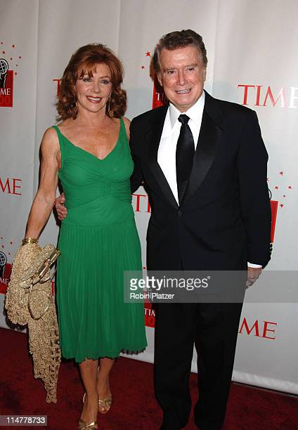 Joy Philbin and Regis Philbin during Time Magazine's 100 Most Influential People 2006 Inside Arrivals at Jazz at Lincoln Center in New York City New...