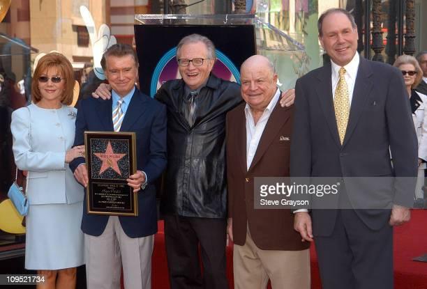 Joy Philbin Regis Philbin Larry King Don Rickles and Michael Eisner