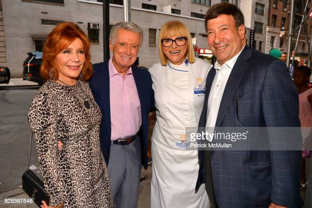 Joy Philbin Regis Philbin Maria Loi and Mark Simone attend Michael Gelman Celebrates The Launch Of CLASS MOM A Novel By Laurie Gelman at Loi...