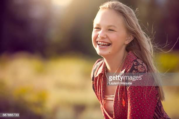 Joy, pre teen girl