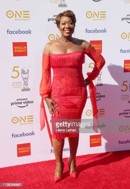 Joy Reid attends the 50th NAACP Image Awards at Dolby Theatre on March 30 2019 in Hollywood California