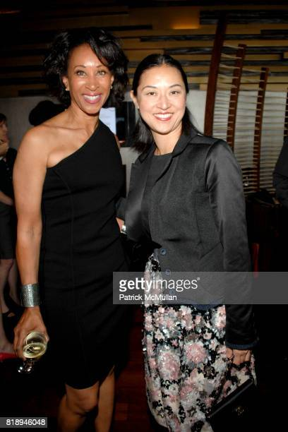 Joy Simmons and Christine Y Kim attend WP24 Dinner For LACMA at Ritz Carlton on May 14 2010 in Los Angeles CA