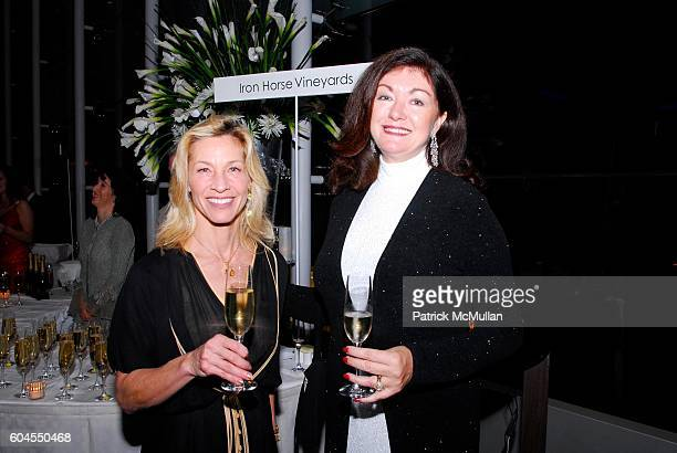 Joy Sterling and Michaela Abrams attend The San Francisco Champagne Sparkling Wine Tasting and Auction SPARKLE SF a benefit for Under One Roof at St...