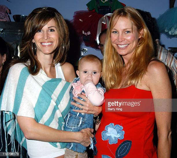 Joy Tilk and daughter Alana Kathleen Kinmont during Sugar Baby Kid's Boutique Store Opening at Sugar Baby in Los Angeles California United States