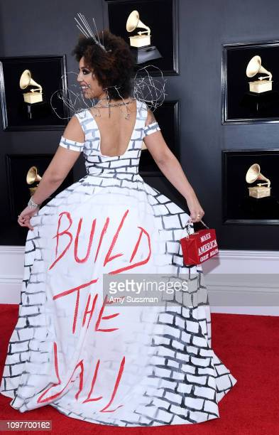 Joy Villa attends the 61st Annual GRAMMY Awards at Staples Center on February 10 2019 in Los Angeles California
