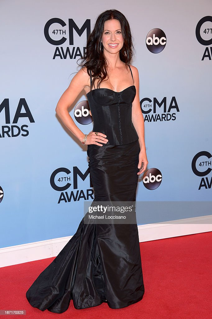 Joy Williams attends the 47th annual CMA Awards at the Bridgestone Arena on November 6, 2013 in Nashville, Tennessee.