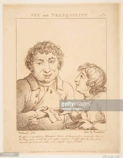 Joy with Tranquility January 21 1800 Artist Thomas Rowlandson