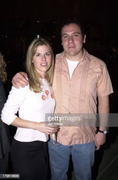 Joya Tillem and Jon Favreau during Premiere of Destination Films' Beautiful at Los Angeles County Museum of Art in Los Angeles California United...