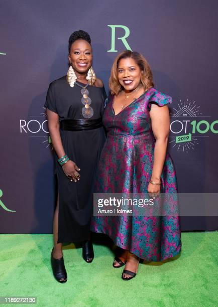 Joy-Ann Reid and Danielle Belton attend 2019 ROOT 100 Gala at The Angel Orensanz Foundation on November 21, 2019 in New York City.