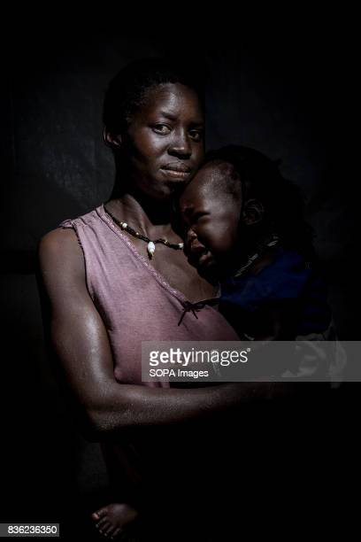 Joyce and her 2-year-old child. Joyce came by the Democratic Republic of the Congo where she was extorted money and personal belongings before...