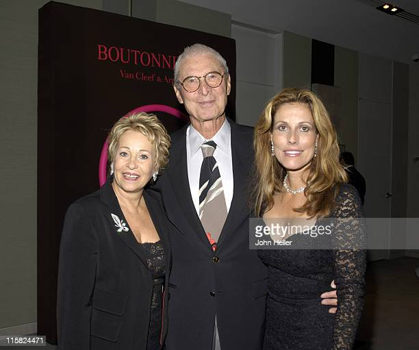 Joyce Brandman, Saul Brandman and Barbara Drake, Store Manager Van Cleef & Arpels at the preview of Van Cleef & Arpels new jewelry collection...