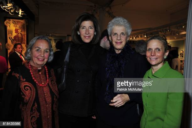 Joyce Cowin Linda Johnson Joan Johnson and Nancy Druckman attend THE AMERICAN ANTIQUES SHOW BENEFIT PREVIEW Celebrates TEXAS Sponsored by The...