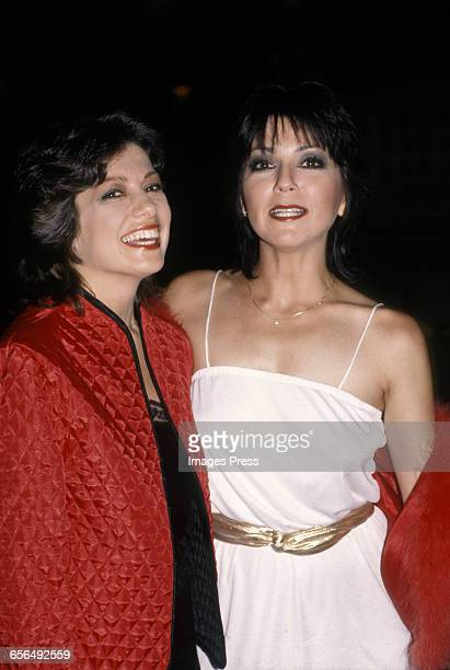 Joyce DeWitt and her sister circa 1980s in New York City